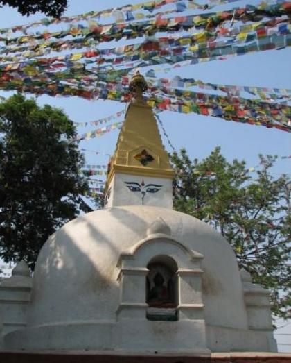Un petit stupa
